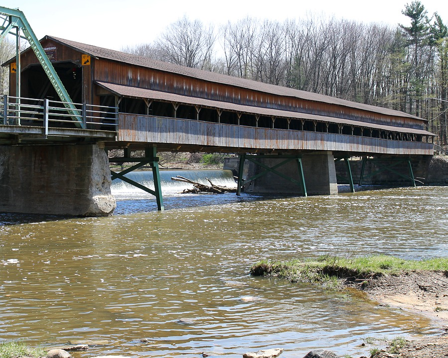 covered bridge - Ohio river