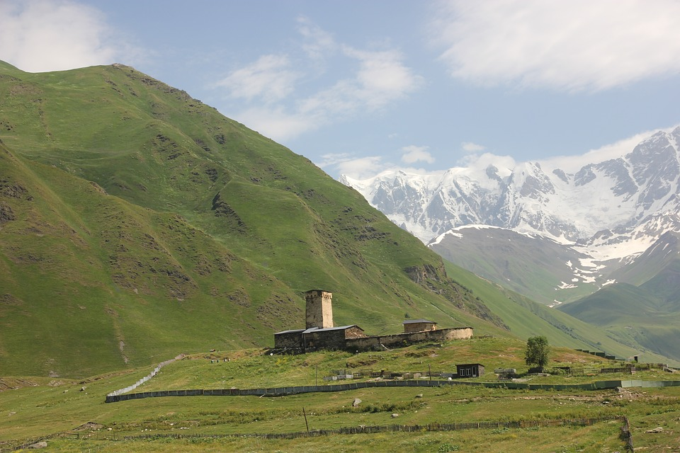 Shkhara mountains