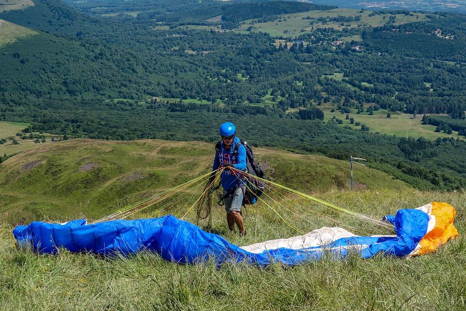 paragliding puy de dôme