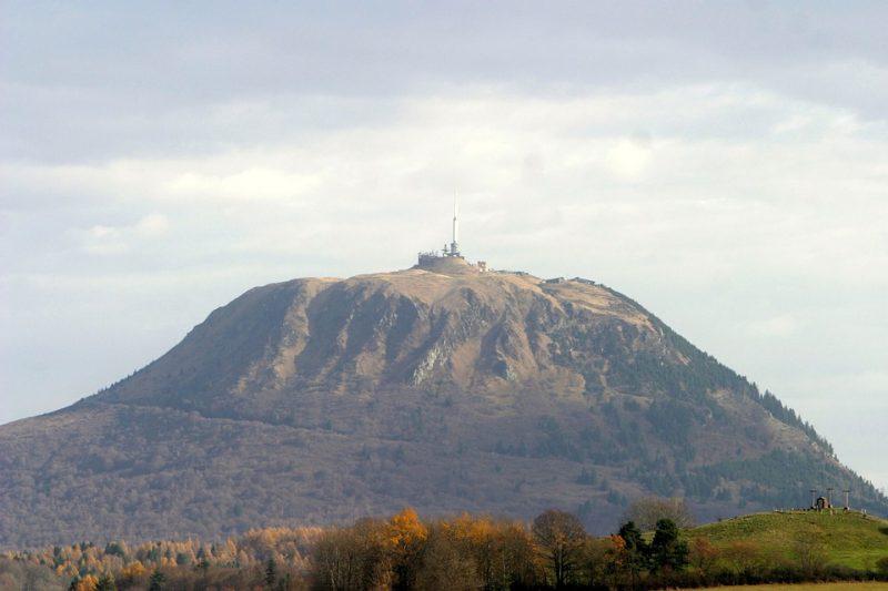 Puy-de-Dome volcano